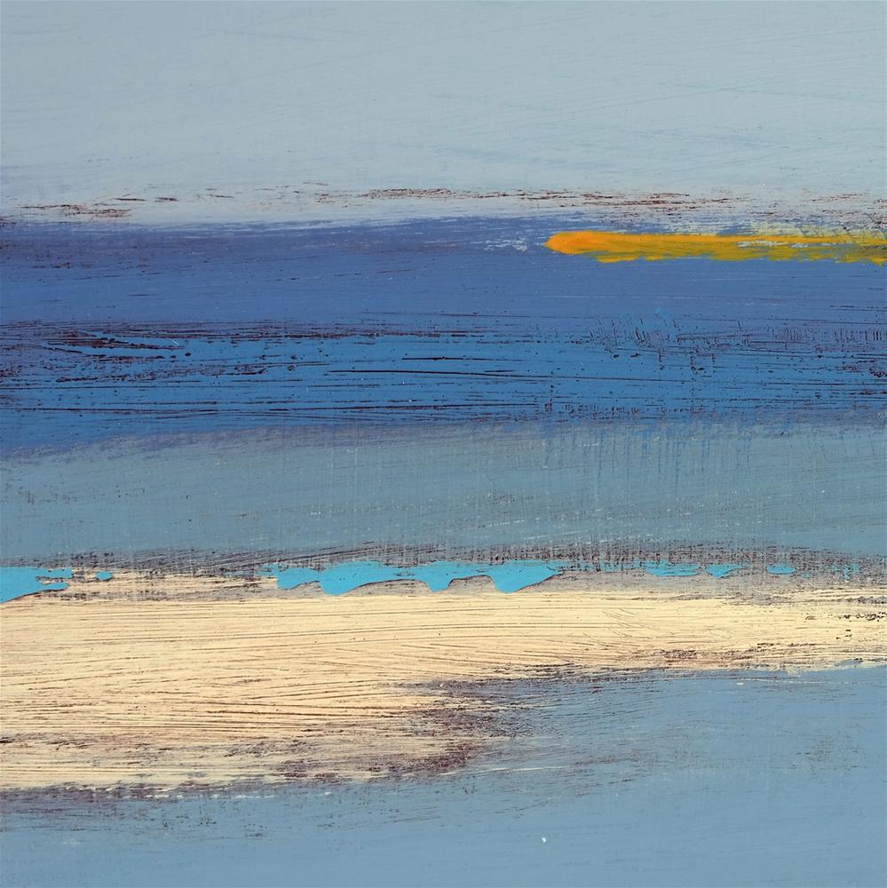 """Landscape 259"" original fine art by Ewa Kunicka"