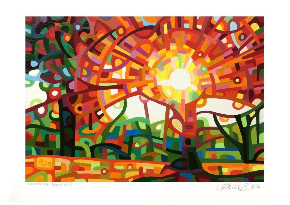 """Landscape Study #60"" original fine art by Mandy Budan"