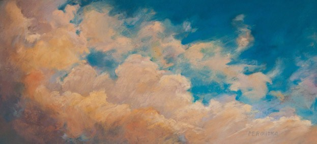 """Blue Sky"" original fine art by Sarah Peroutka"