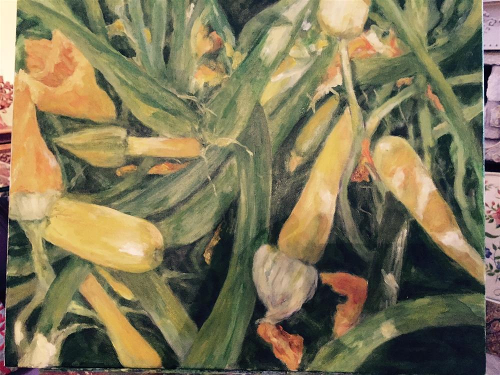 """Organic"" original fine art by Lucy Hammett"