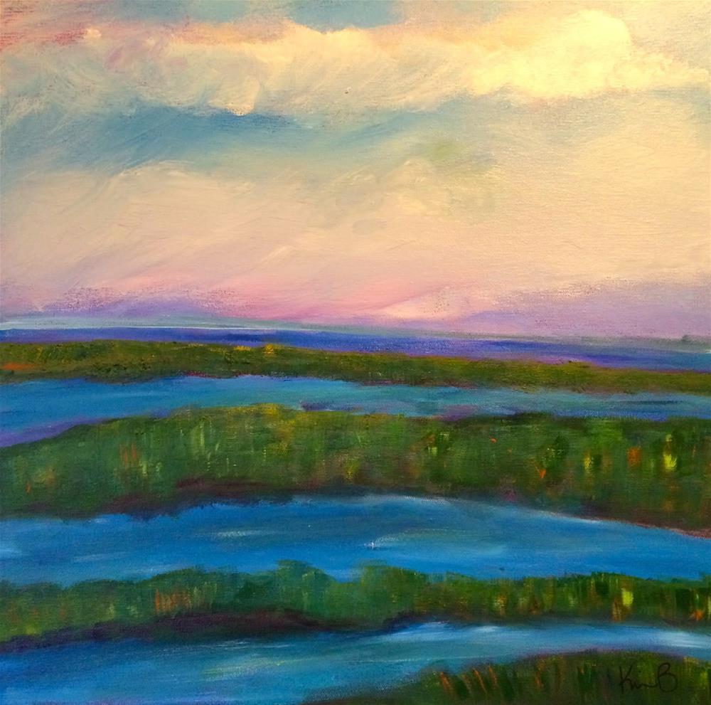 """Down East"" original fine art by Kimberly Balentine"