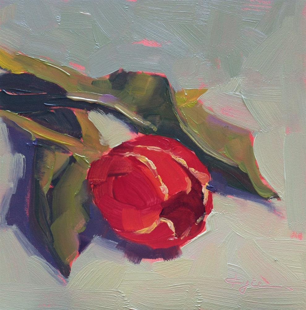 """Tulip"" original fine art by Katia Kyte"