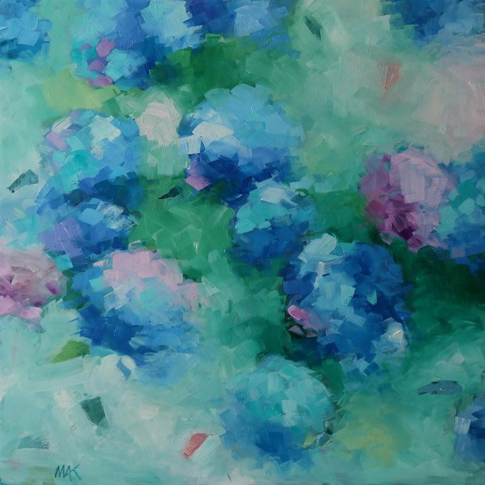 """Hydrangea"" original fine art by Mary Anne Cary"