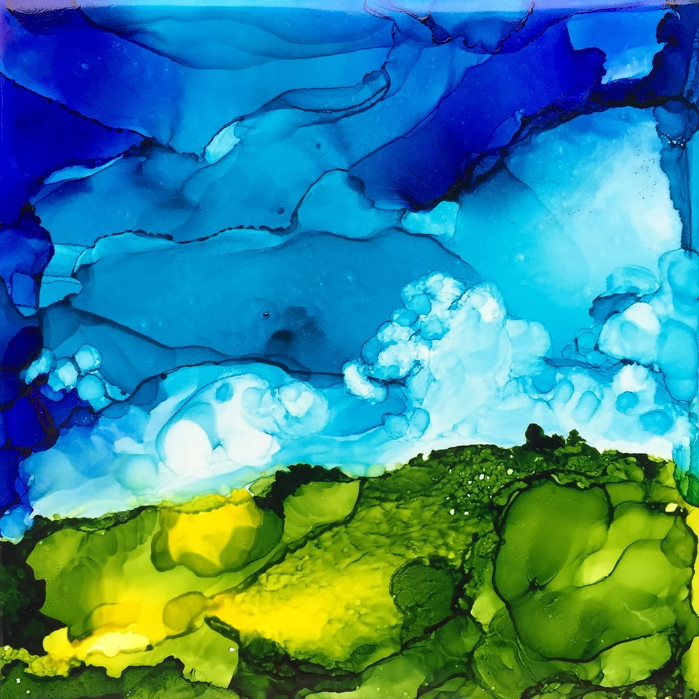 """""""Wander No. 1"""" original fine art by Elizabeth Dawn Johnston"""