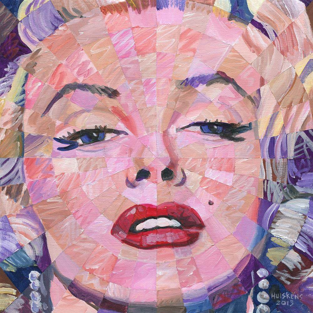 """Marilyn Monroe 2013.12x12.03"" original fine art by Randal Huiskens"