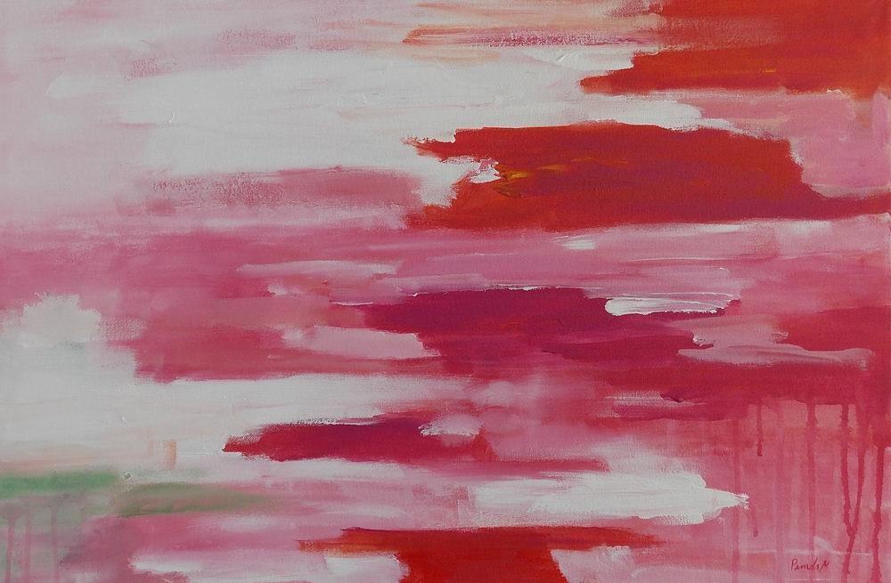 """Campari"" original fine art by Pamela Munger"