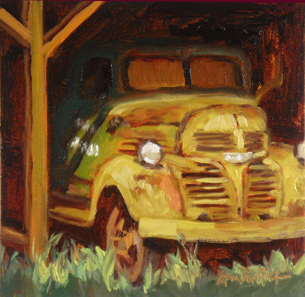 """Rusty Yet Regal"" original fine art by Erin Dertner"