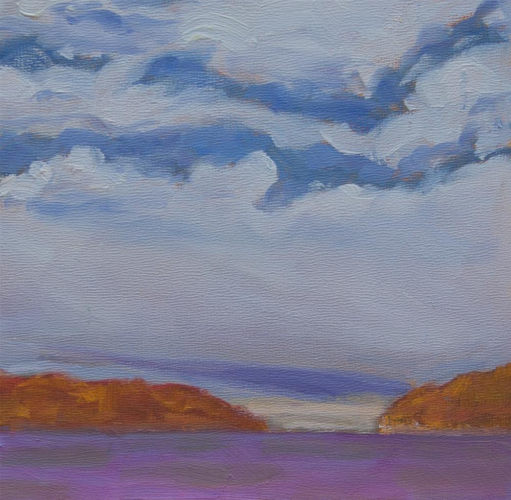 """""""Between the Islands"""" original fine art by Maria McNitt"""