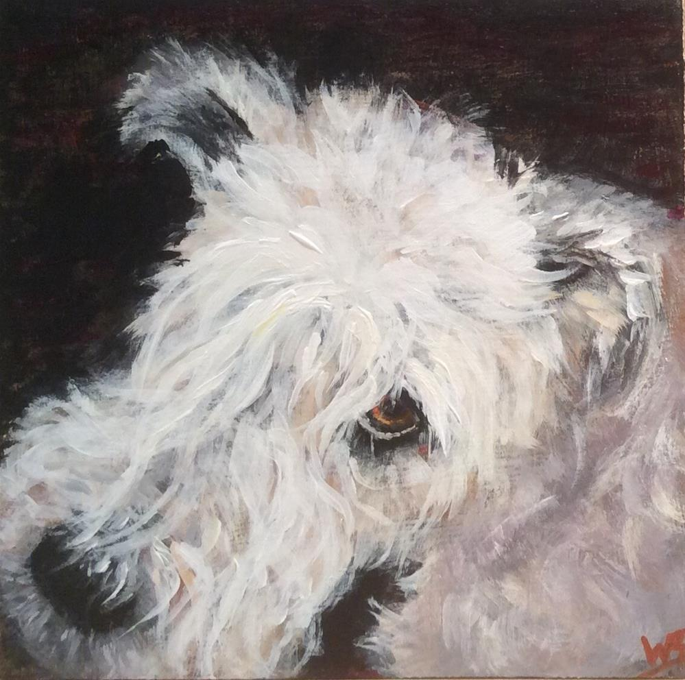 """Meg"" original fine art by wendy black"