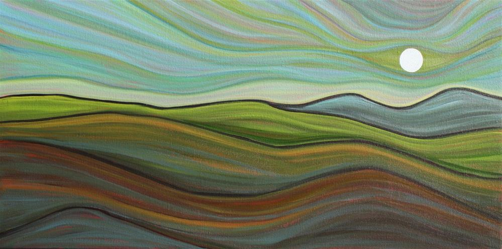 """Hill Country Morning"" original fine art by Sage Mountain"