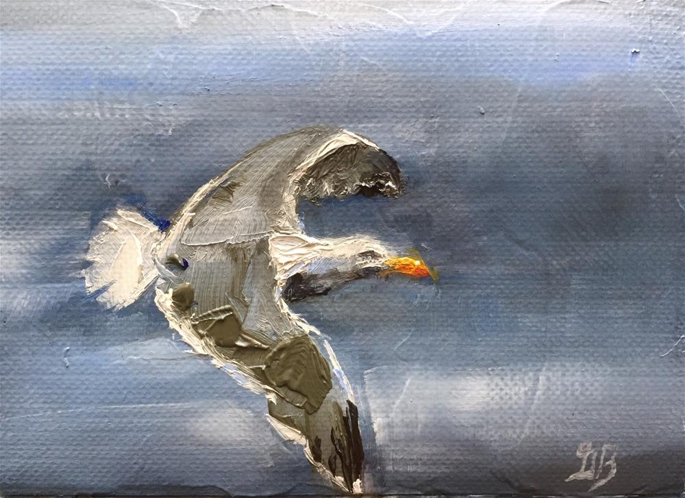 """On the Wing"" original fine art by Gary Bruton"