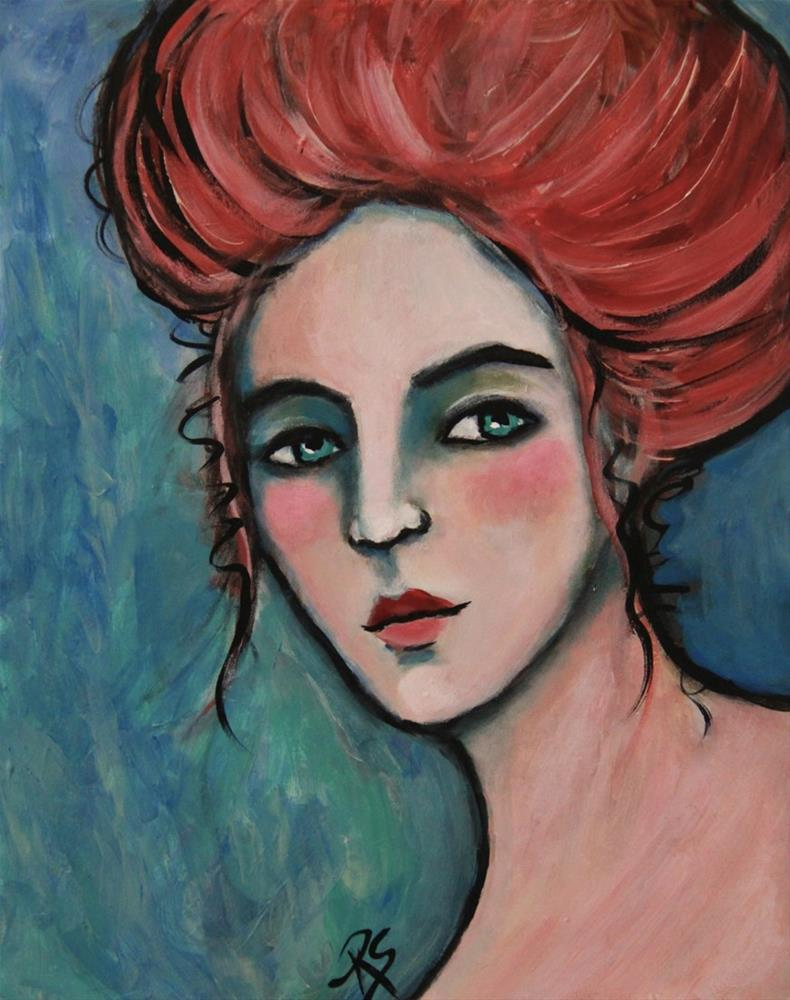 """""""Clodagh"""" original fine art by Roberta Schmidt"""