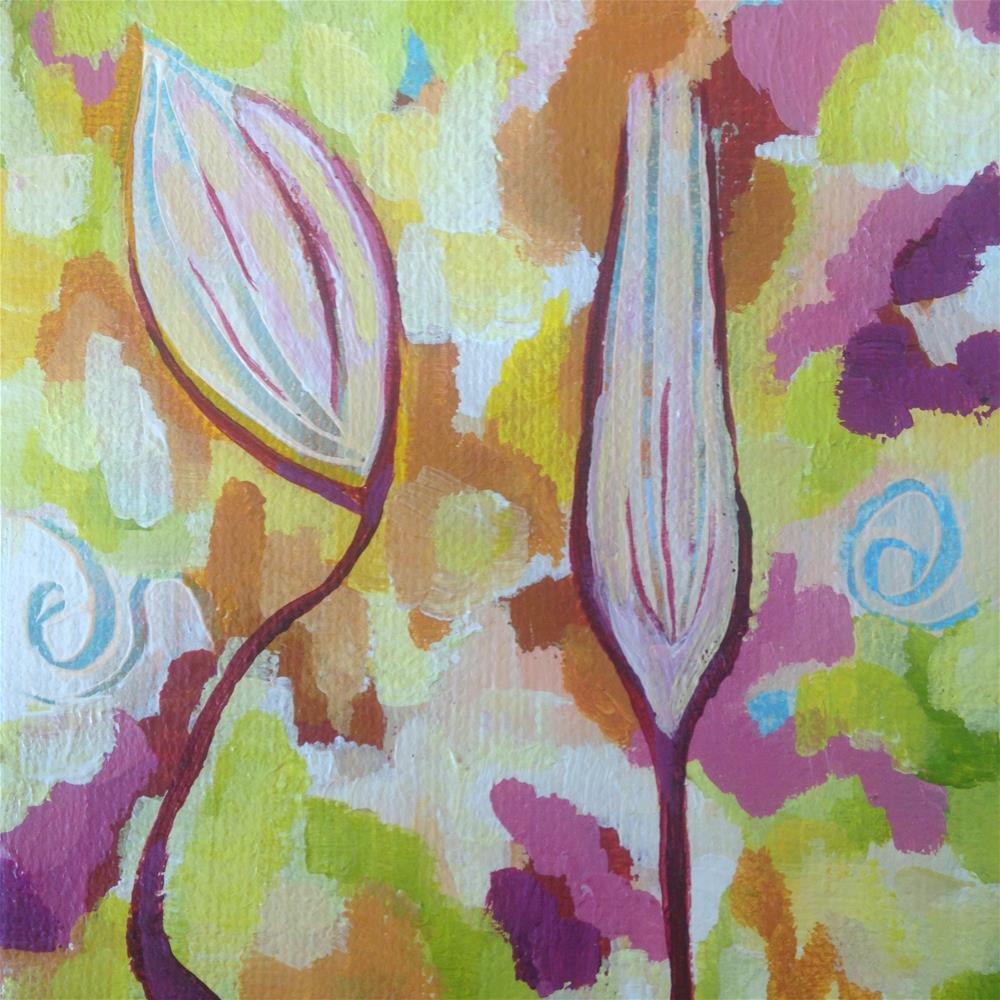 """Opening Up"" original fine art by Nicole Saunders"