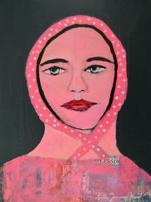 """Lesson"" original fine art by Katie Jeanne Wood"