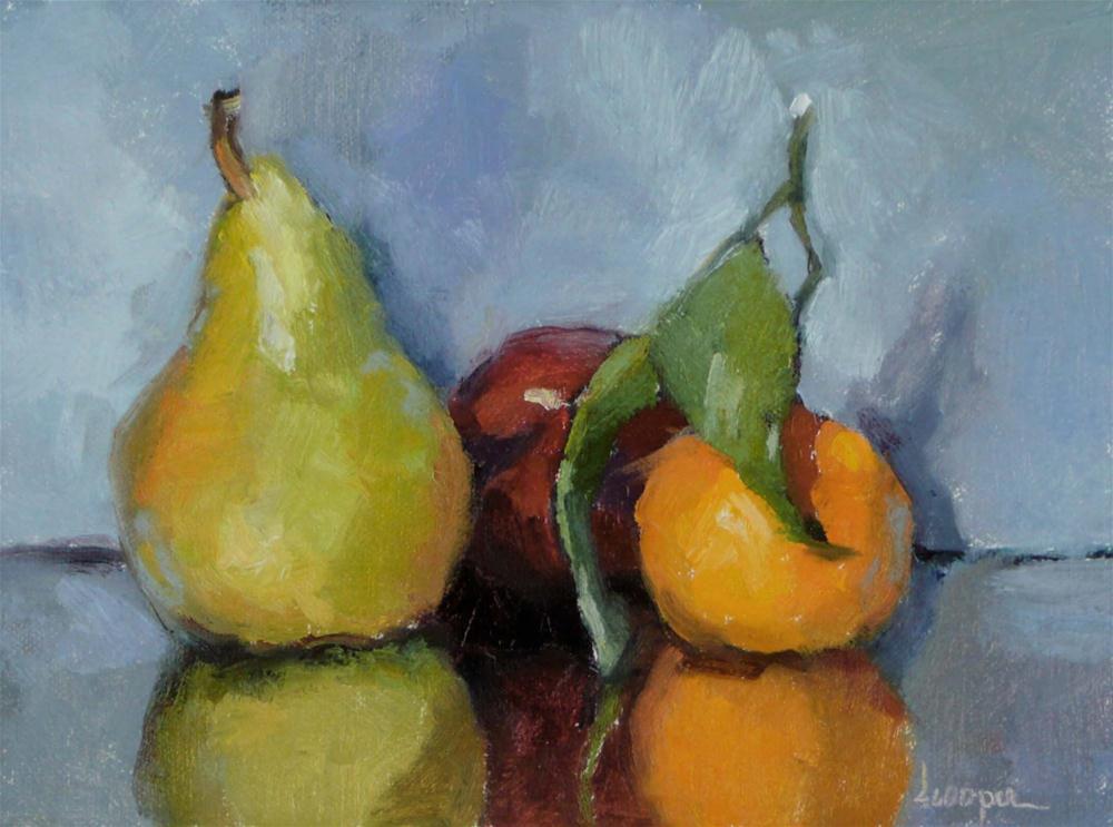 """""""Three In One"""" original fine art by Dana Cooper"""