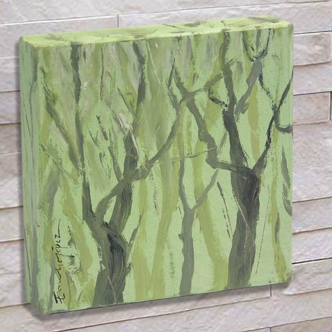 """""""Bosque 4"""" original fine art by Emilio López"""