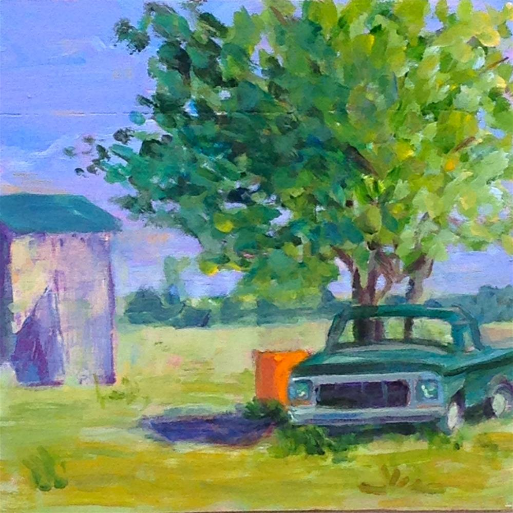 """Doc's Truck"" original fine art by Beth Carrington Brown"