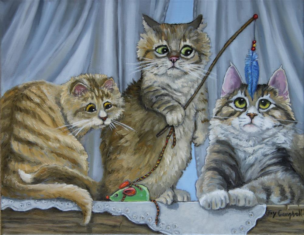"""Hy Jinx"" original fine art by Joy Campbell"