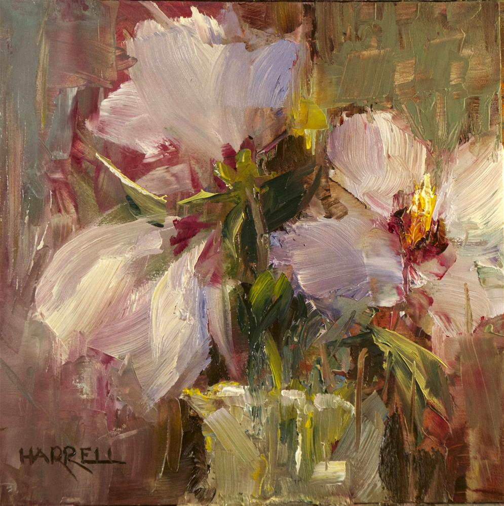 """Hibiscus"" original fine art by Sue Harrell"