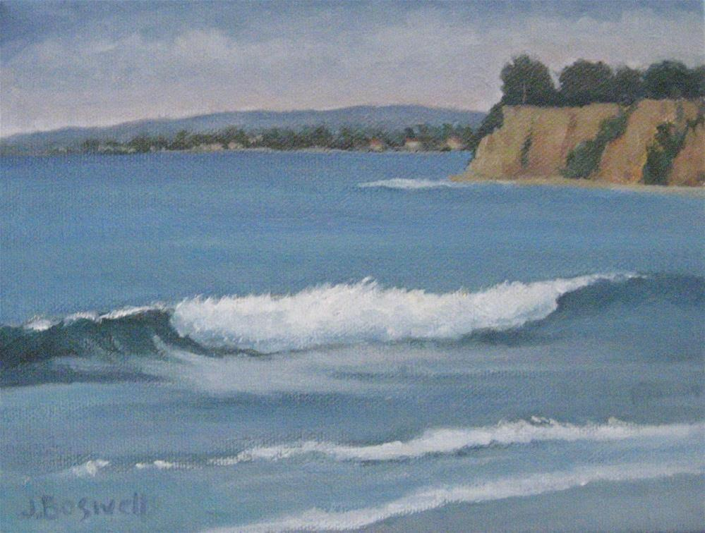 """View From Butterfly Beach Series 2"" original fine art by Jennifer Boswell"