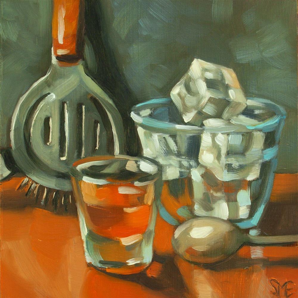 """""""A Rocky Start"""" original fine art by Sheila Evans"""