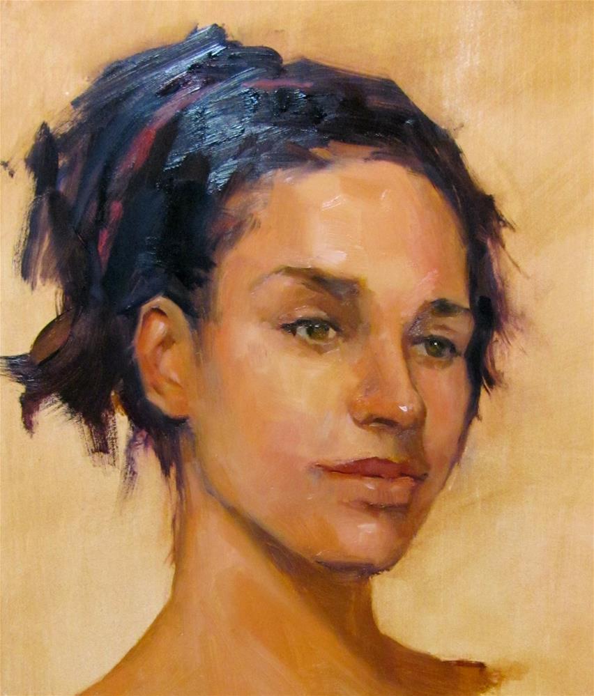 """A Lovely Moment"" original fine art by Laurie Johnson Lepkowska"