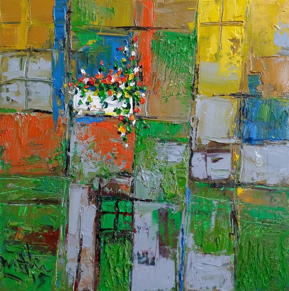 """The Windows"" original fine art by Duc Tran"