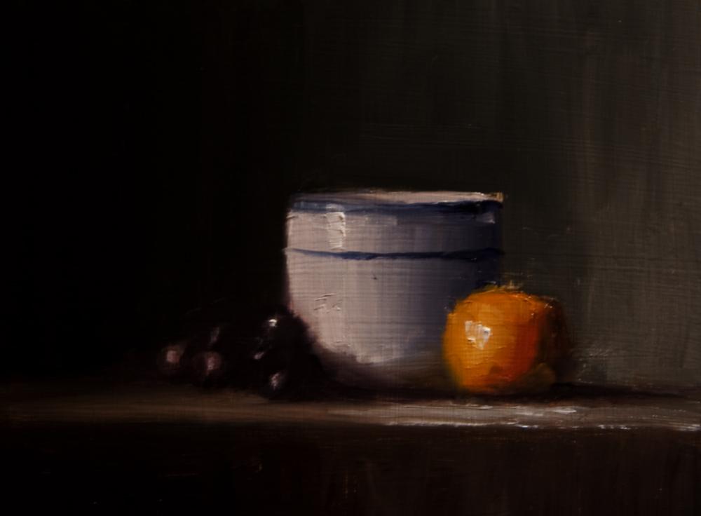 """""""Small Pot"""" original fine art by Neil Carroll"""