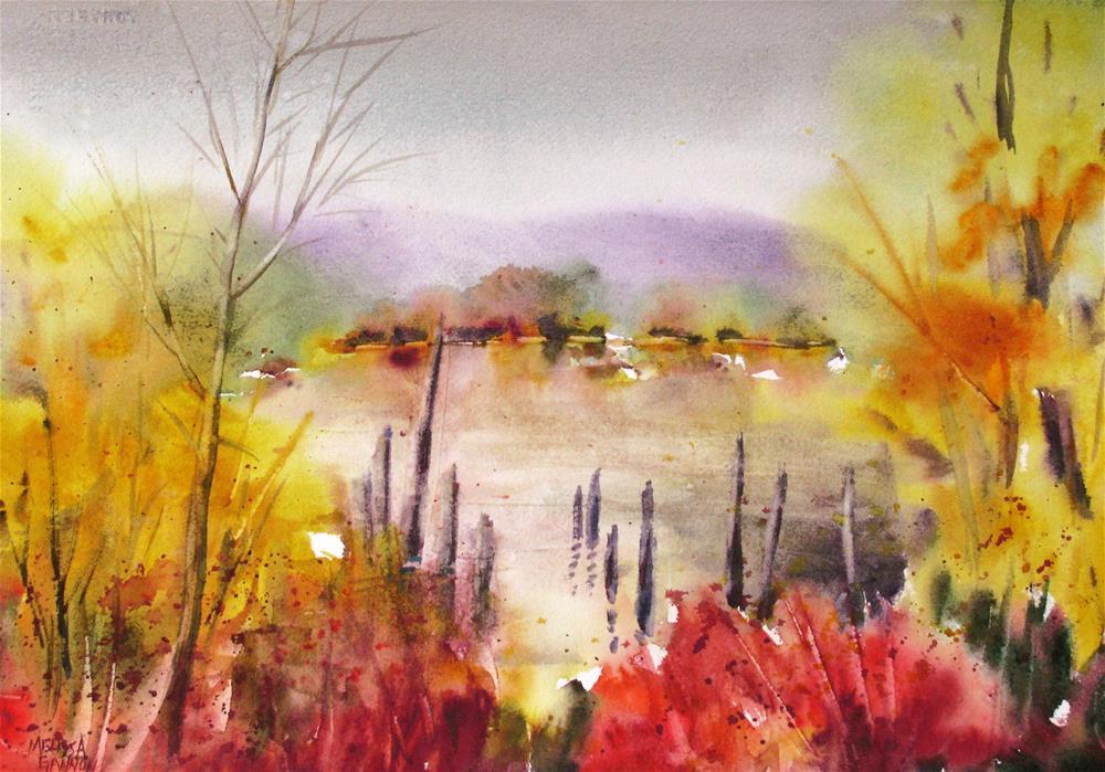 """Next to the Water"" original fine art by Melissa Gannon"