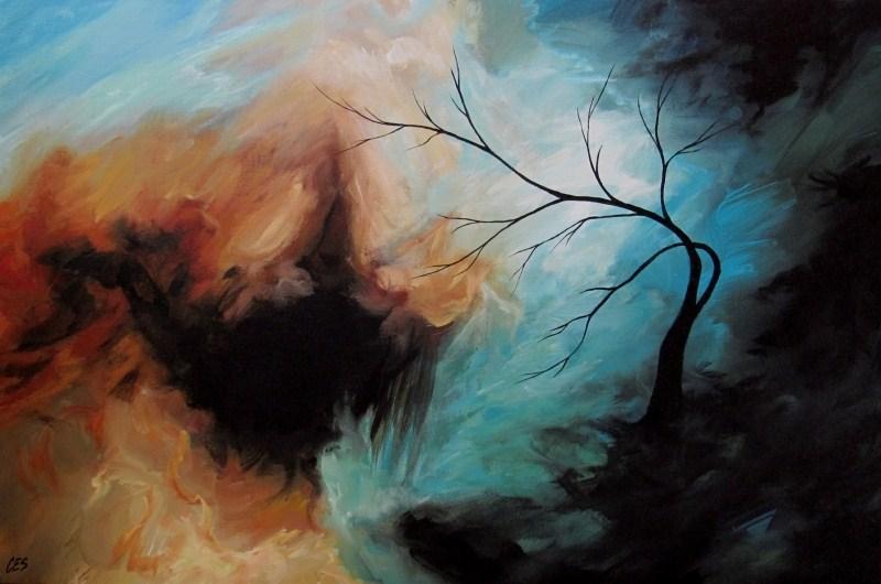 """Void"" original fine art by ~ces~ Christine E. S. Code"