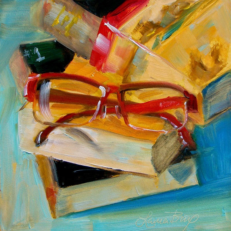 """Stacked 172"" original fine art by Laura  Buxo"