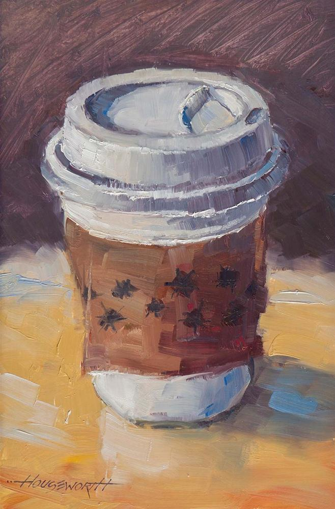 """Java To Go"" original fine art by Terry Houseworth"