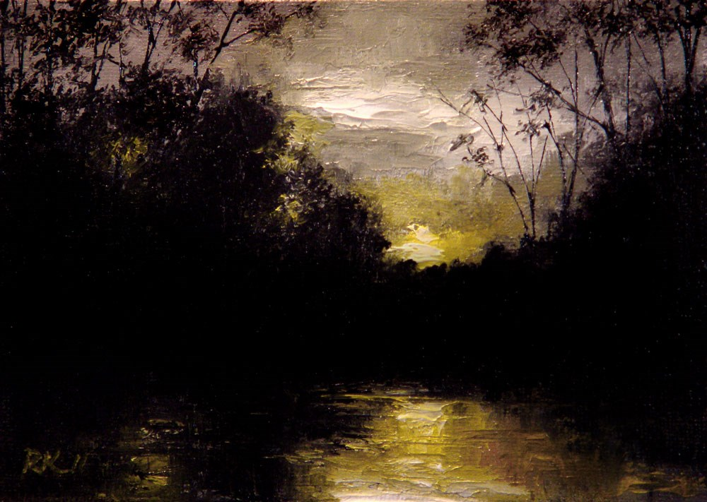 """Last Light"" original fine art by Bob Kimball"