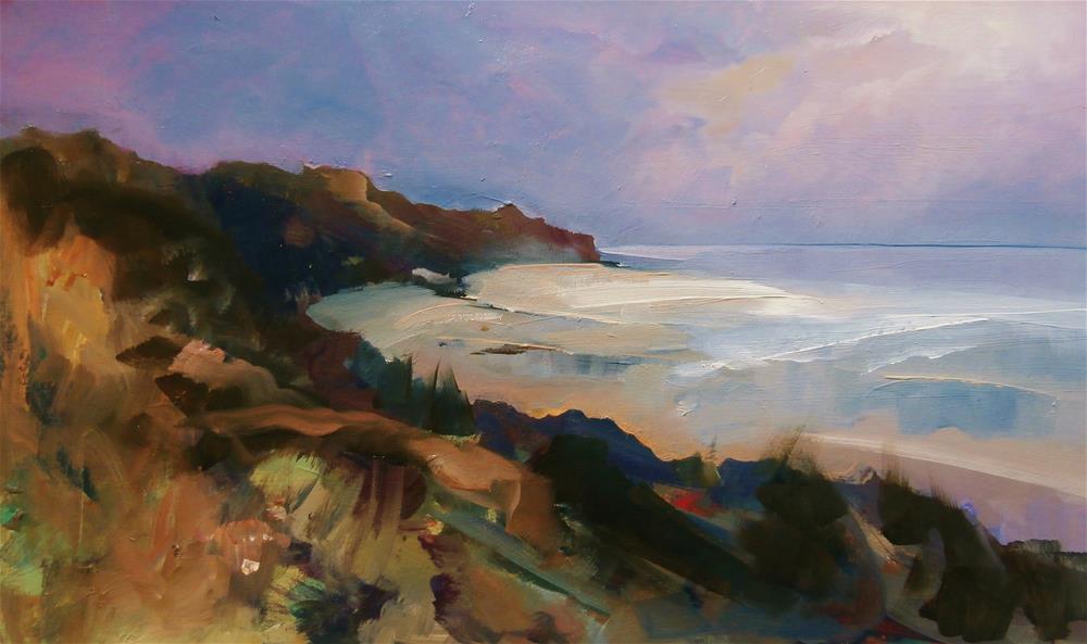 """Morning"" original fine art by Anne Wood"