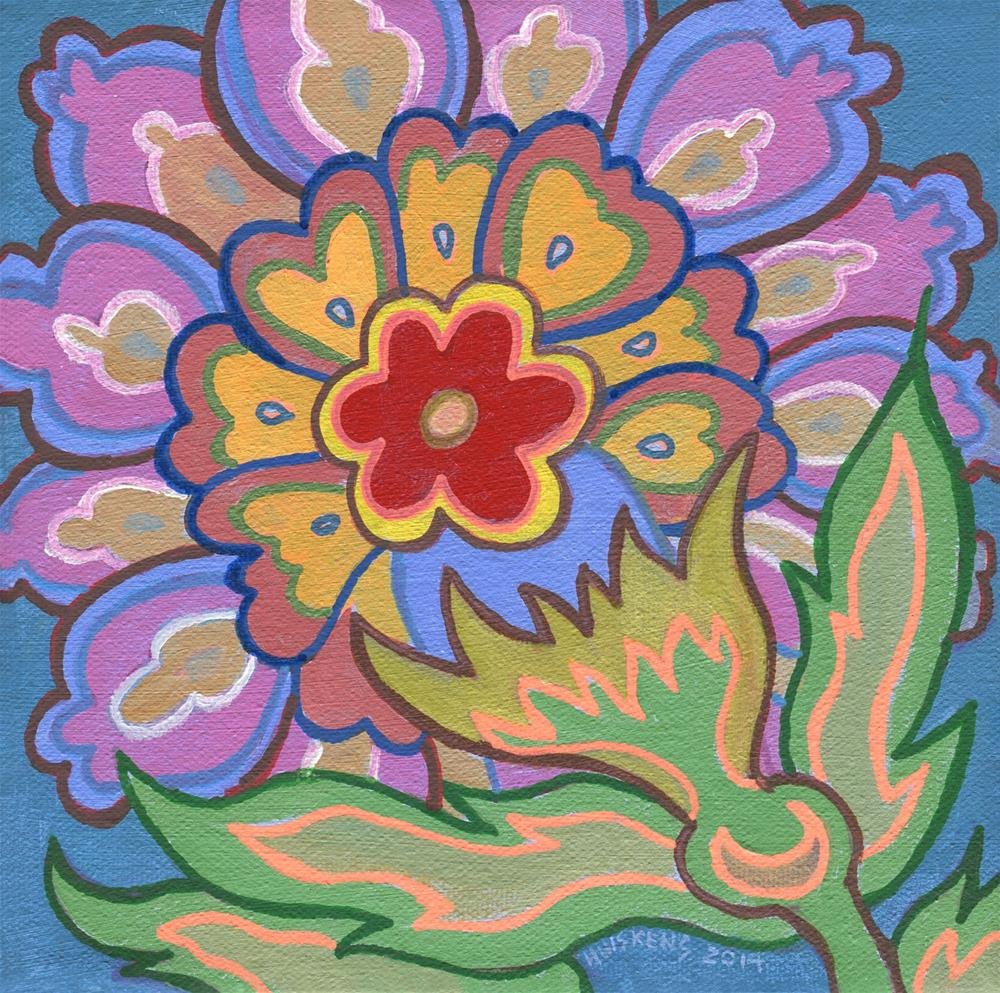 """Flower No. 6"" original fine art by Randal Huiskens"
