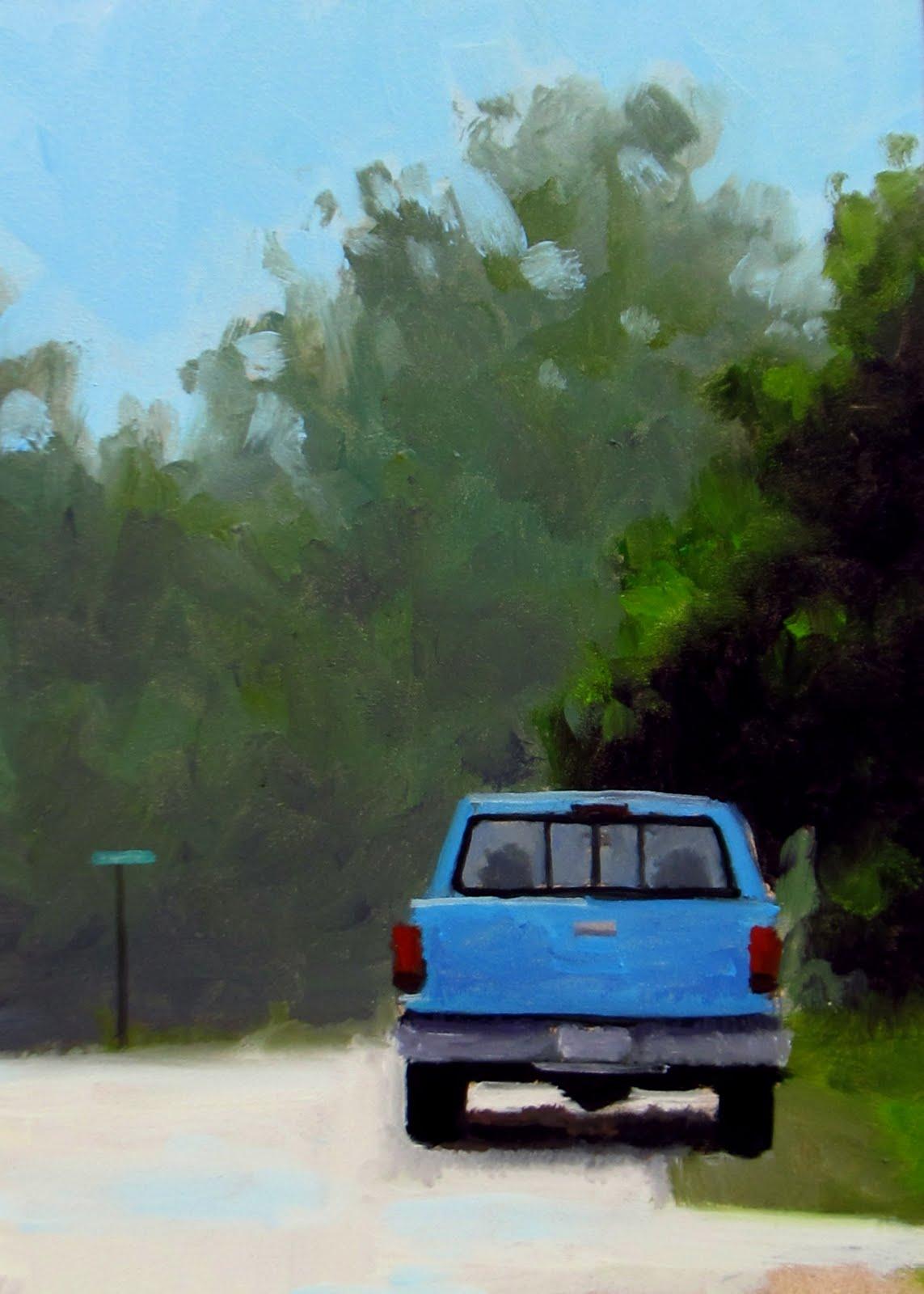 """""""DAILY DIAPER #207 A Block Down"""" original fine art by Brian Burt"""