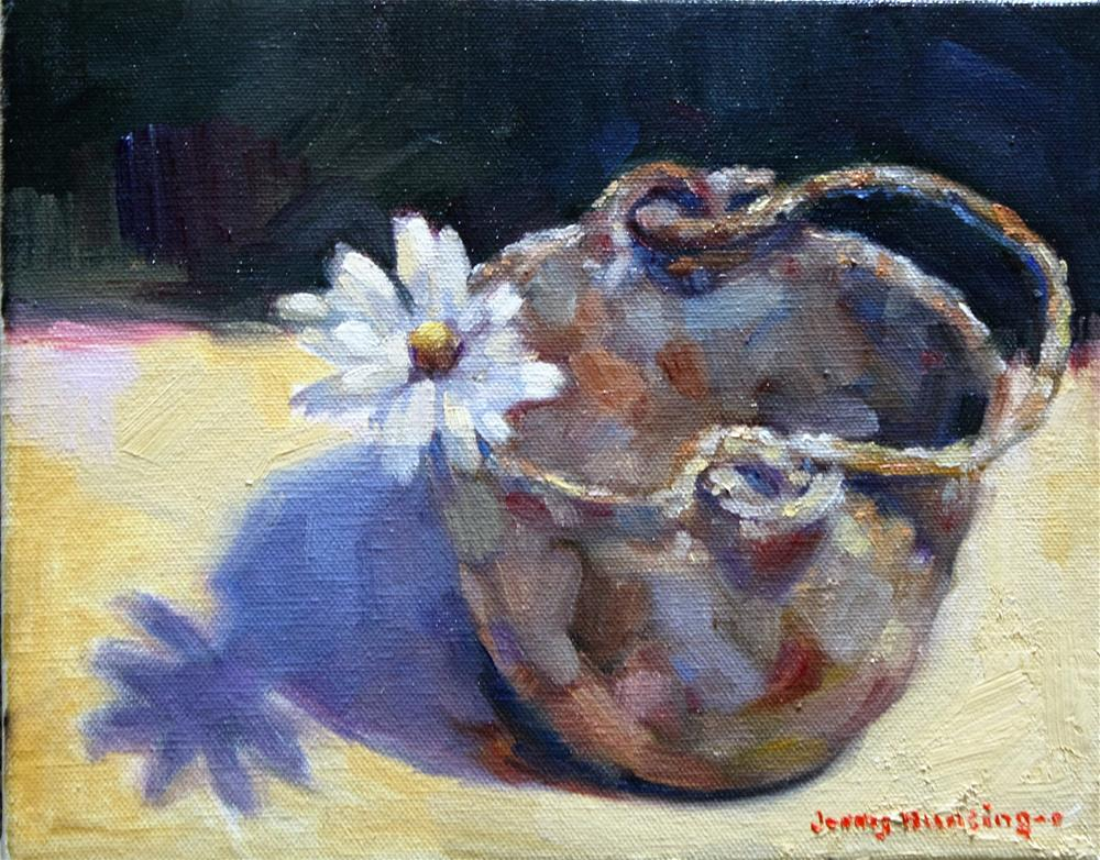 """Another Daisy"" original fine art by jerry hunsinger"