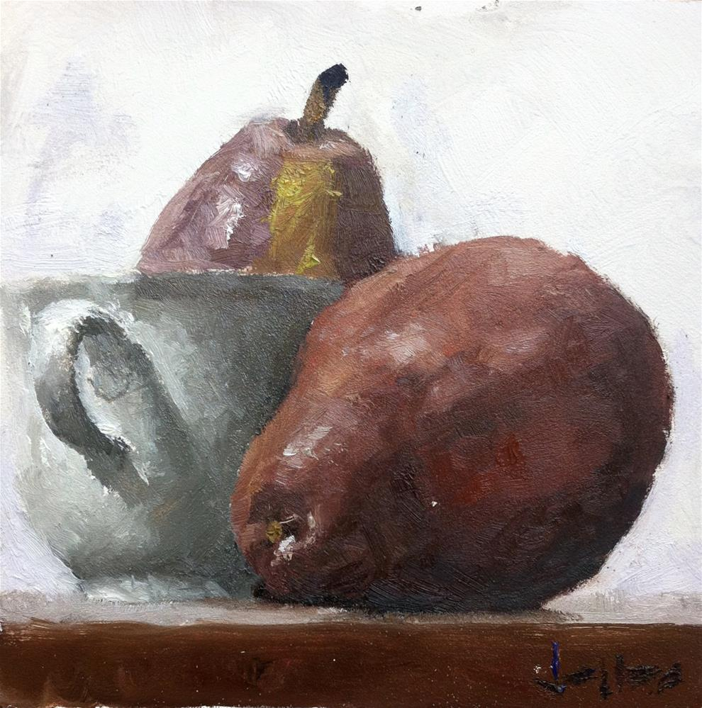 """Arrangement with Pears"" original fine art by Richard Jones"