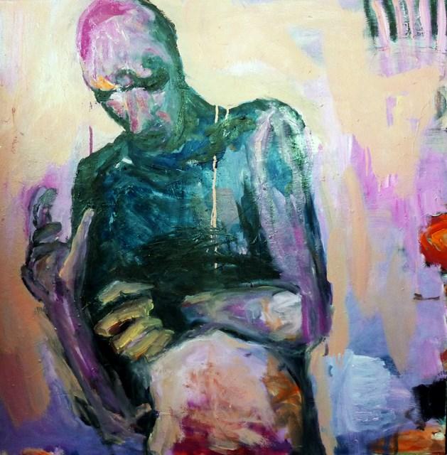 """""""der Tänzer / Dancer"""" original fine art by Mila Plaickner"""