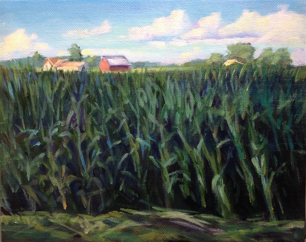 """""""Ohio"""" original fine art by Susan Suraci"""