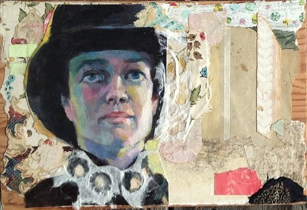 """Ringmaster"" original fine art by Katie Wilson"