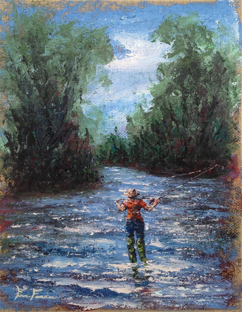 """Flyin the Betsy"" original fine art by Ken Fraser"