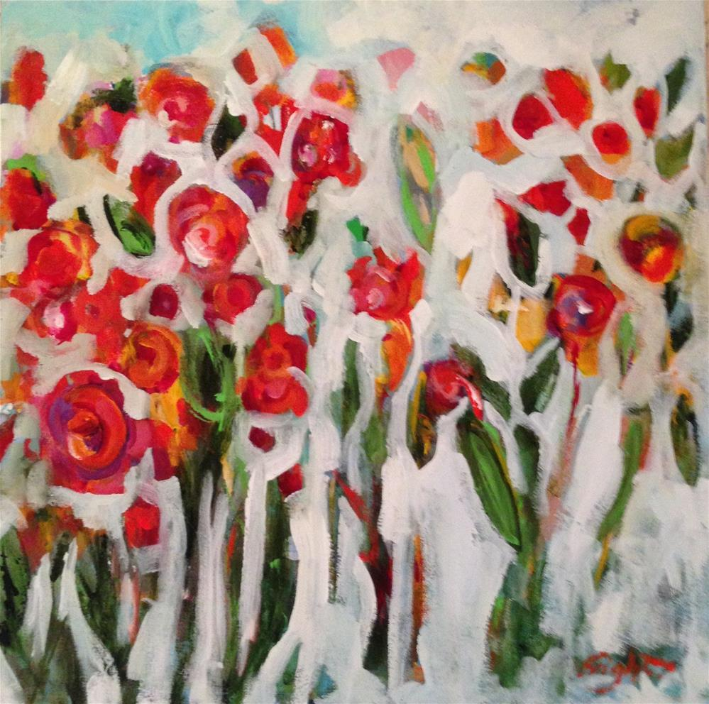 """""""How Does Your Garden Grow?"""" original fine art by Molly Wright"""