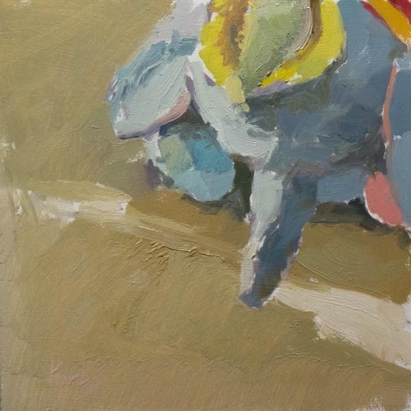 """""""Jousting for Light"""" original fine art by Randall Cogburn"""
