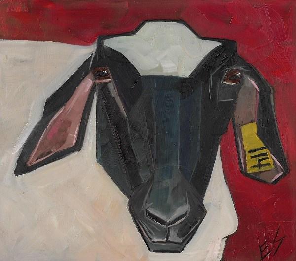 """Sheep"" original fine art by Elizabeth See"