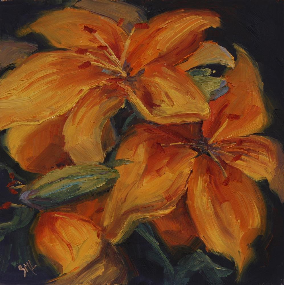 """Orange Days"" original fine art by Sheila Marie"