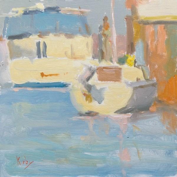 """In the Harbor"" original fine art by Randall Cogburn"