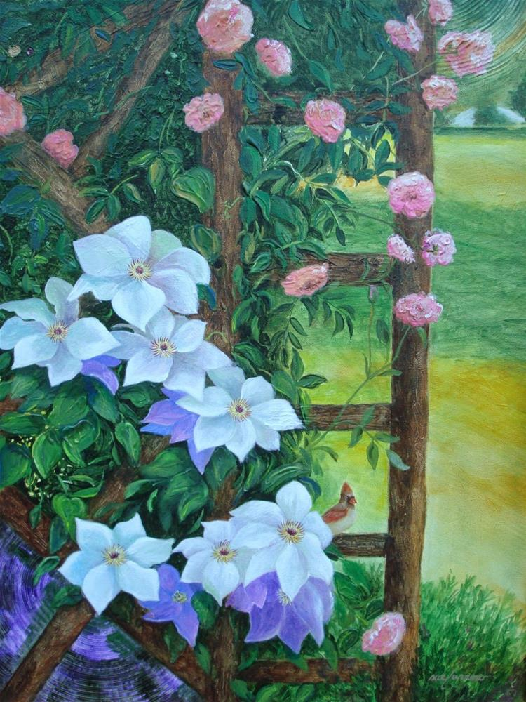 """Arbor"" original fine art by Sue Furrow"