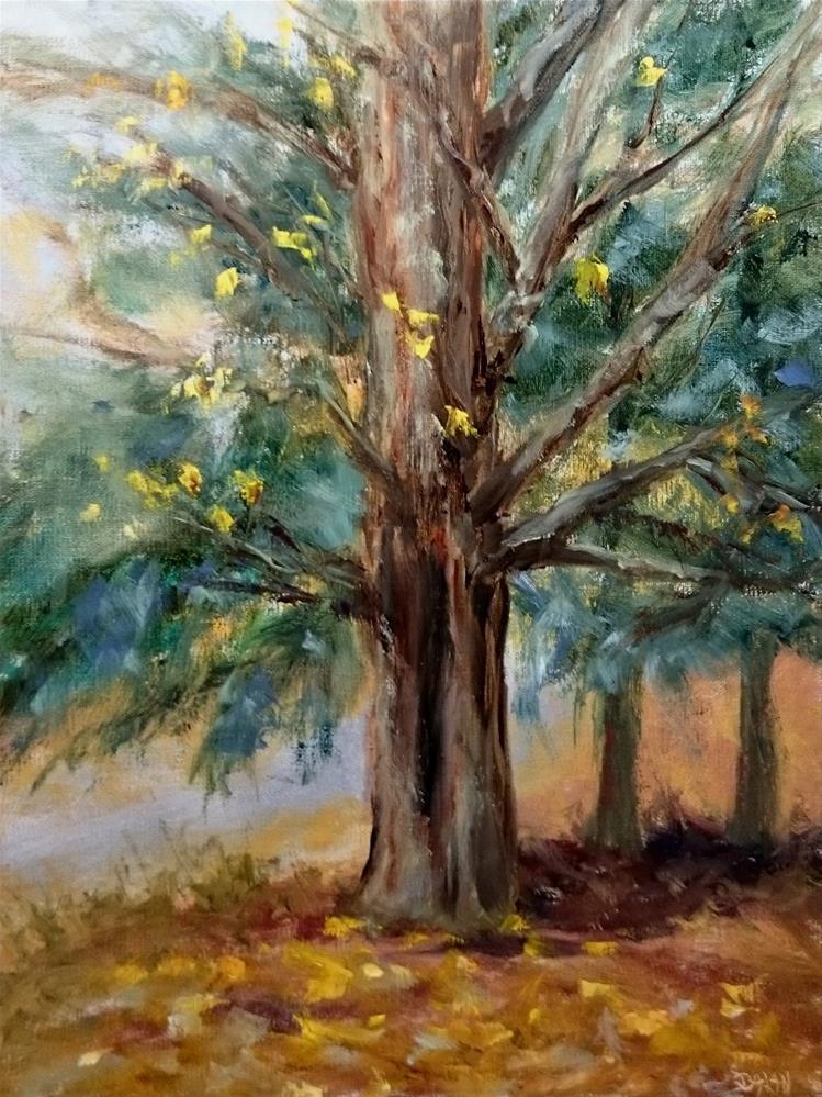 """Sugar Maple And Hemlocks"" original fine art by Dalan Wells"