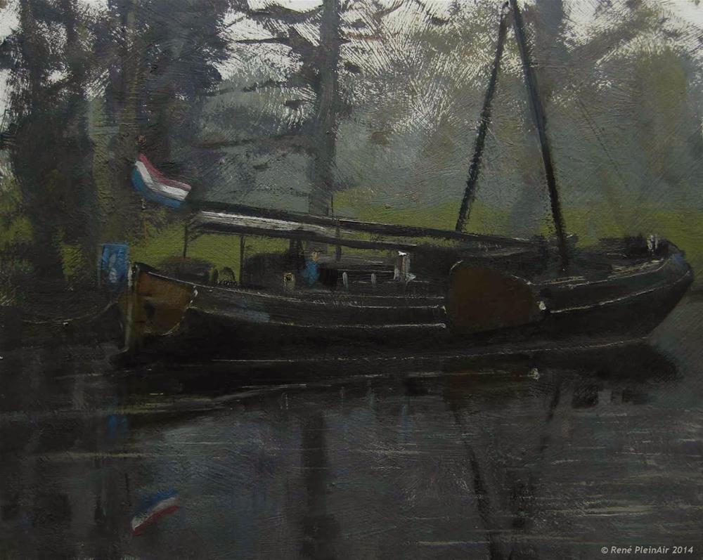 """Vleermoes te Doetinchem. Doetinchem, Holland."" original fine art by René PleinAir"
